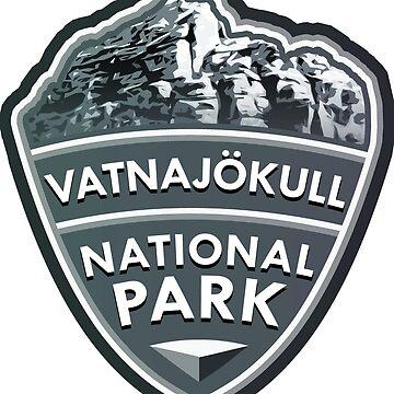 Vatnajökull National Park Simple by tysonK
