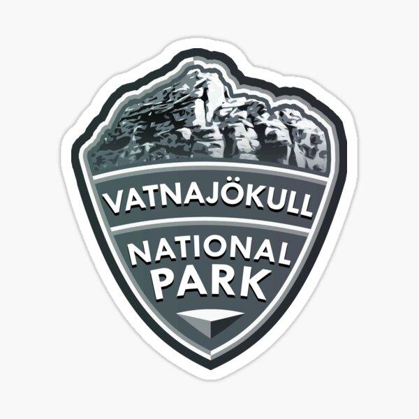 Vatnajökull National Park Simple Sticker