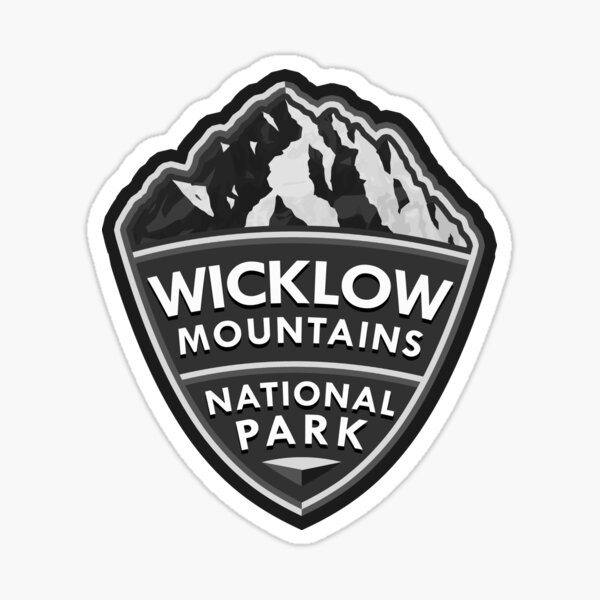 Wicklow Mountains National Park Simple Sticker