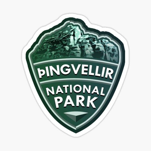 Þingvellir National Park Simple Sticker