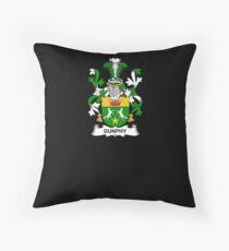 Dunphy Coat of Arms - Family Crest Shirt Throw Pillow