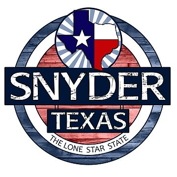 Snyder Texas rustic wood circle by artisticattitud