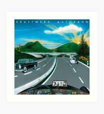 Kraftwerk Autobahn Kunstdruck