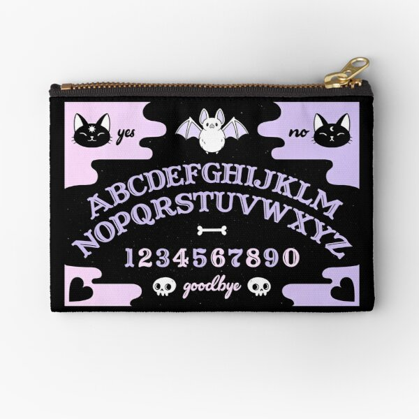 Cute Ouija // Pastel Zipper Pouch