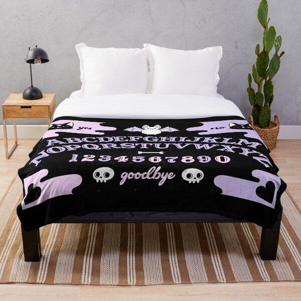 Cute Ouija // Pastel | Nikury Throw Blanket