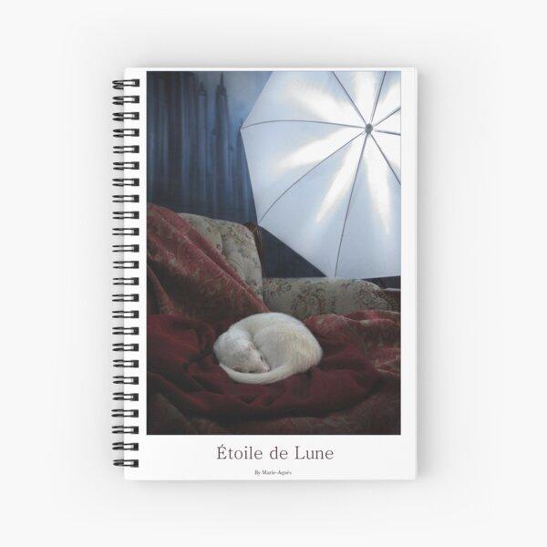 Etoile de Lune  Spiral Notebook