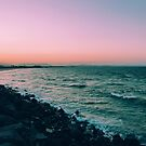 Beach Sunset - Byron Bay by msangiemoon