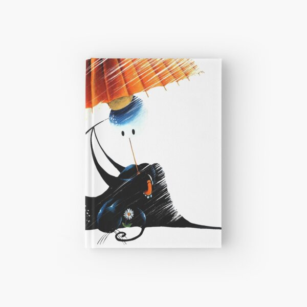 About the Rain by Feroldi Hardcover Journal