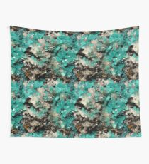 "GEMSTONE PATTERN ""SMITHSONITE"" Wall Tapestry"