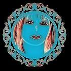 Lady in blue  by sabelacarlos