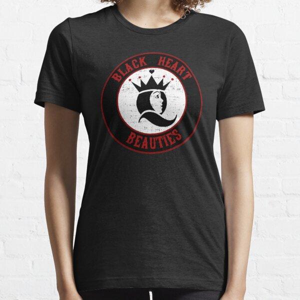 Jersey Shore Roller Girls - Black Heart Beauties Essential T-Shirt