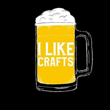 I like craft Beer by majuga