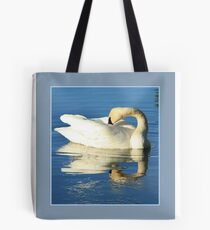 Matted Icy Reflection Tote Bag