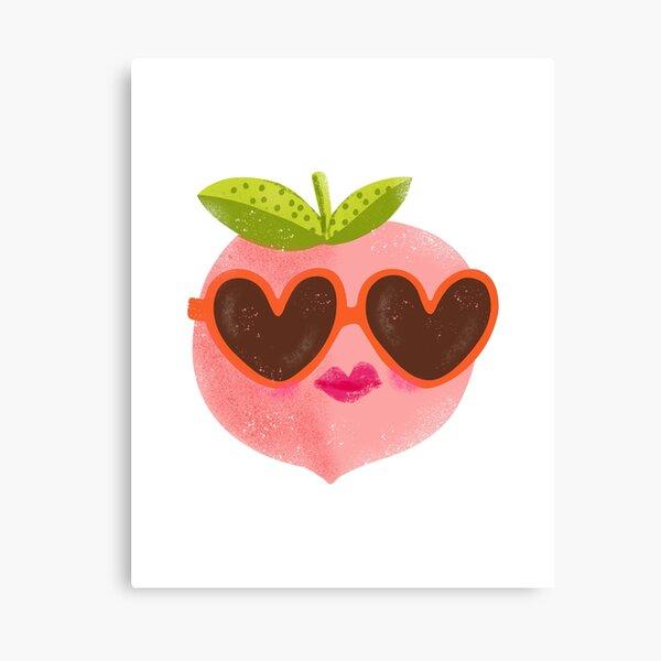 Peach Sunnies Canvas Print