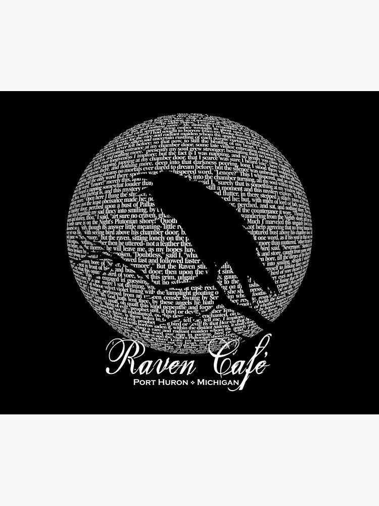 The Raven Moon Poem by Edgar Allan Poe - RAVEN CAFE by ravencafeph