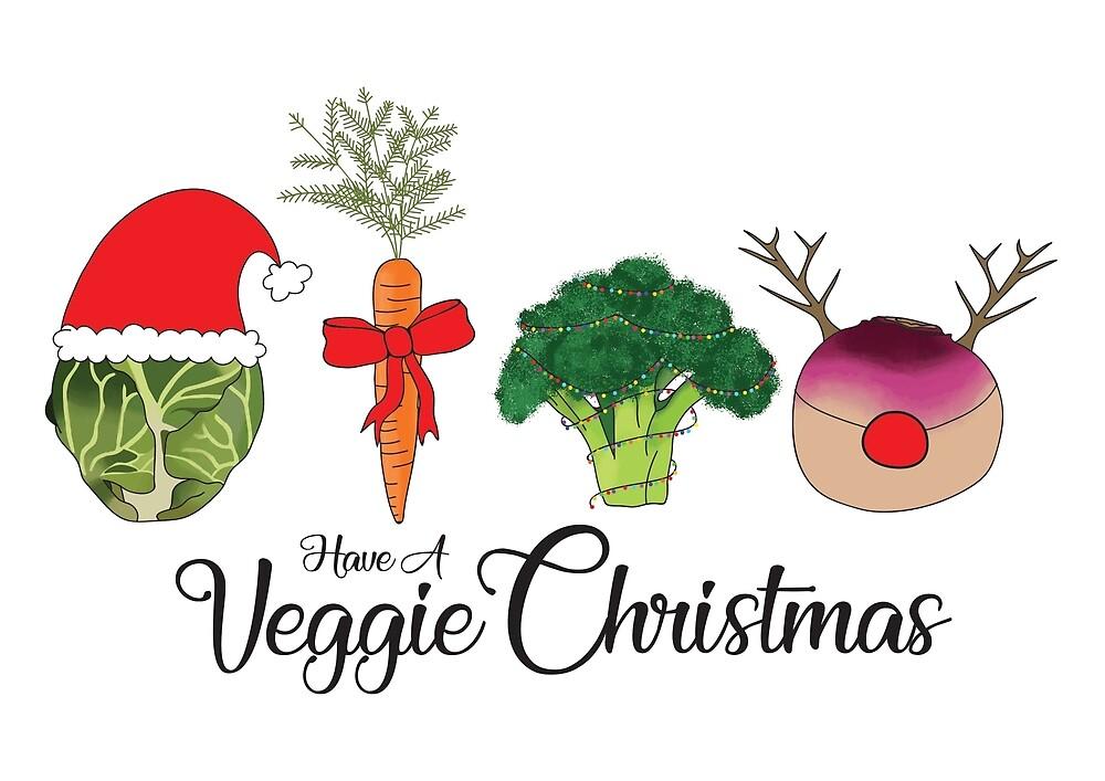 A Very Veggie Christmas.Very Veggie Christmas By Anniemarr Redbubble