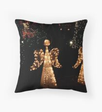 Angels To Watch Over Me Throw Pillow