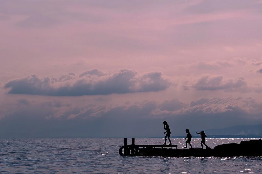 Lake Annecy by Jean-Pierre Ducondi