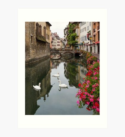 Annecy, France Art Print