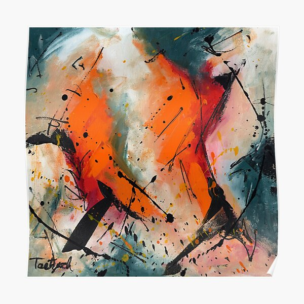 Abstract Art Forty-Seven Poster