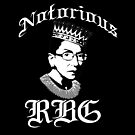 NOTORIOUS RBG Ruth Bader Ginsburg SCOTUS Feminist Icon Crown Meme by starkle
