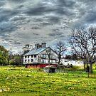 Barn Near Quicksburg by James Brotherton
