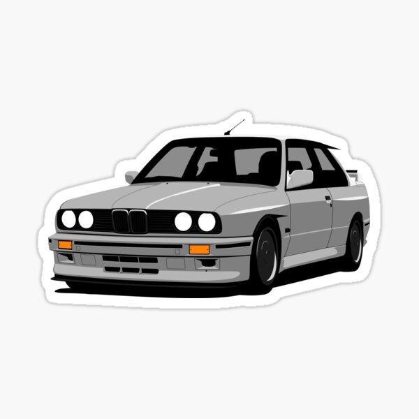 Grey E30 Sticker