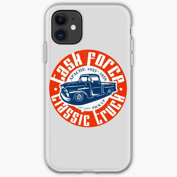 Task Force Apache Classic Truck 1955 - 1959 iPhone Soft Case