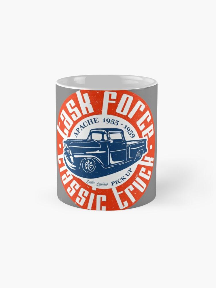 Alternative Ansicht von Task Force Apache Classic Truck 1955 - 1959 Tasse