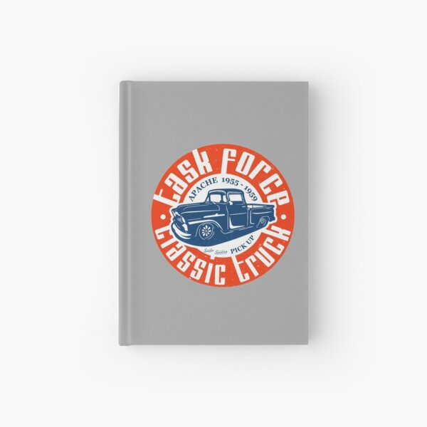 Task Force Apache Classic Truck 1955 - 1959 Hardcover Journal