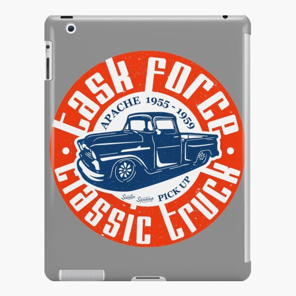 Task Force Apache Classic Truck 1955 - 1959 iPad Snap Case