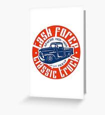 Task Force Apache Classic Truck 1955 - 1959 Grußkarte