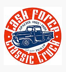 Task Force Apache Classic Truck 1955 - 1959 Fotodruck