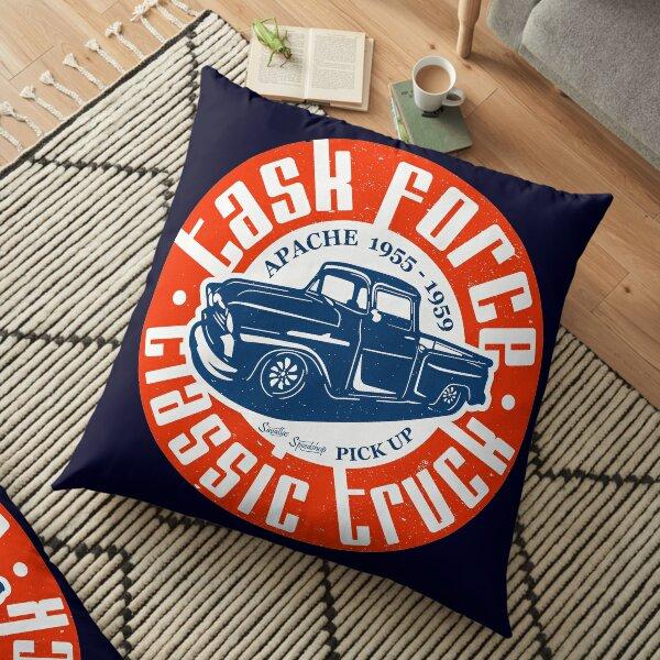 Task Force Apache Classic Truck 1955 - 1959 Floor Pillow