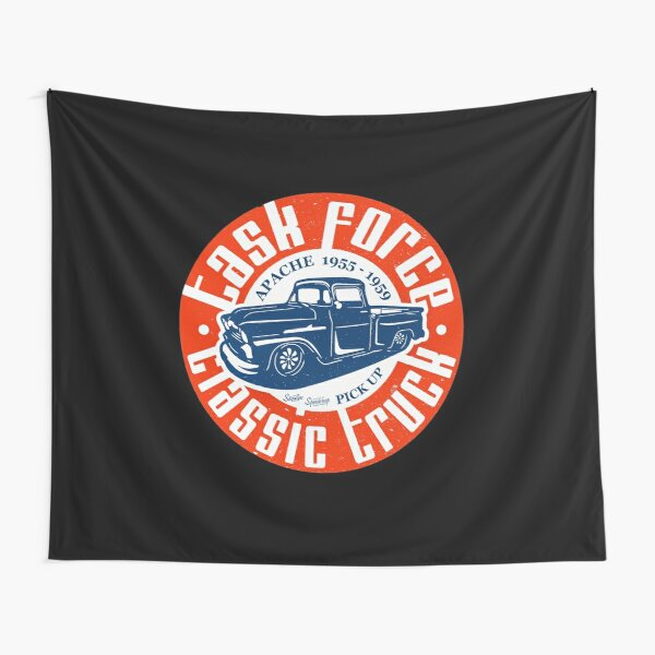 Task Force Apache Classic Truck 1955 - 1959 Tapestry