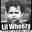 Lil Wheezy Hurt My Feelings! by ravencafeph