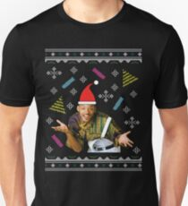 Fresh Prince Of Bel Air Will Smith Christmas Knit Pattern Unisex T-Shirt