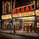 City - Chicago IL - Nightlife at the Regal Theater 1941 by Michael Savad