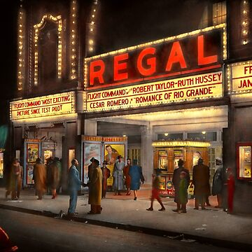 City - Chicago IL - Nightlife at the Regal Theater 1941 by mikesavad