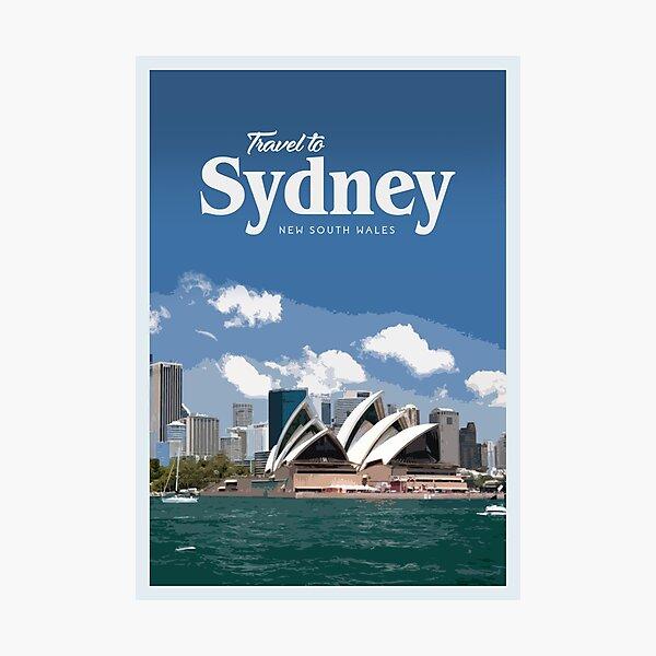 Travel to Sydney Photographic Print