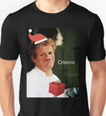 Gordon Ramsay Crismis Christmas Sosig Unisex T-Shirt