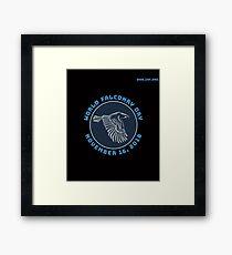 World Falconry Day November 16 2018 Framed Print
