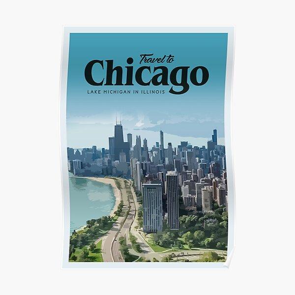 Visit Chicago Poster