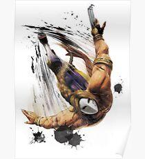 Vega From STREET FIGHTER Poster