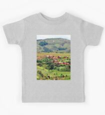 a vast Comoros landscape Kids Tee