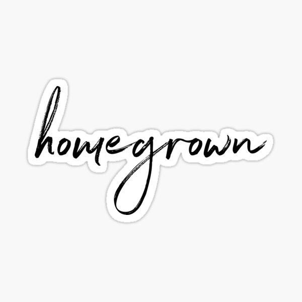 zac brown band homegrown Sticker