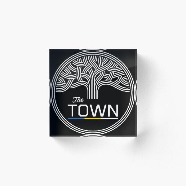 The Town  Acrylic Block