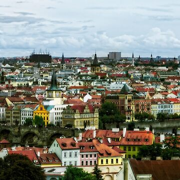 Prague From On High by KayBrewer