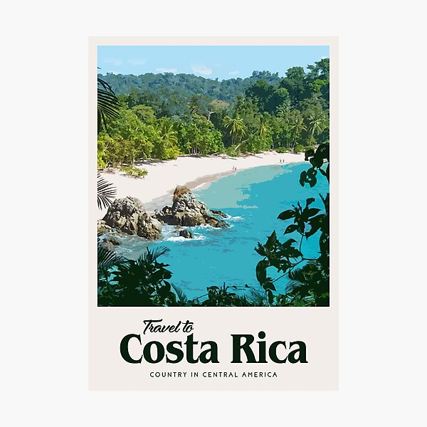 Costa Rica  Photographic Print