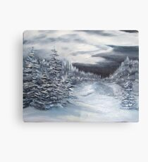 Bitter Cold Canvas Print